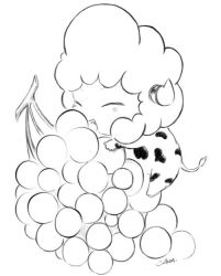 Lambo and grapes by Smilears