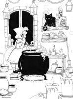 Witches Brew by sleepyotter