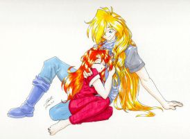 Slayers together by paradoxal