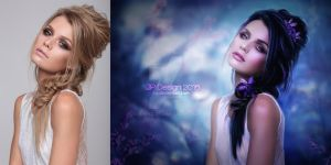 Gabi - Before and After by pjenz