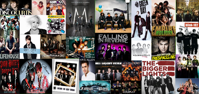 my favorite bands by botdf-bvb