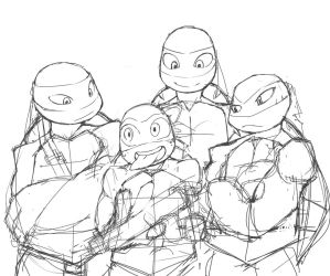 Tmntsketch by SF-fun