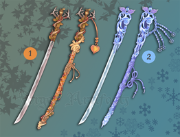 Weapon Adoption 07 Seasonal Katanas CLOSED by Forged-Artifacts