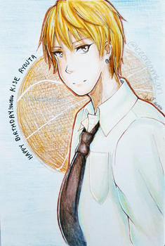 Kise Ryouta by IceCreamKari