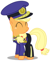 Colonel Purple Dart by Brony-Works