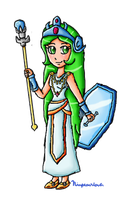 Classic Palutena by ninpeachlover
