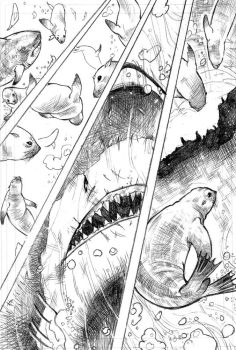 Discovery Channel's Great White Sharks pg5 by xavor85