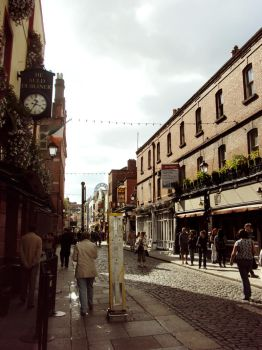 Streets of Dublin by SuspiciousTeacup
