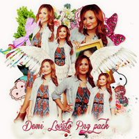 Pack png 184 Demi Lovato by MichelyResources
