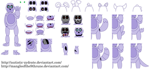FNaF Base 5 - Ultimate Animatronic Creator by Autistic-Zydrate