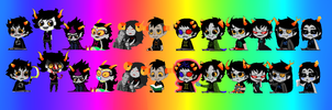 Homestuck Shimeji Collection- MASTERPOST by kagamine-iza