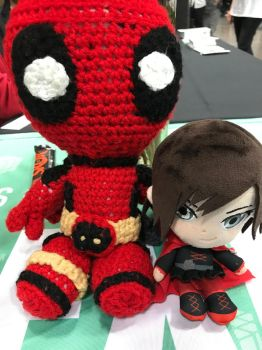 Ruby and Deadpool by GamerGirl14