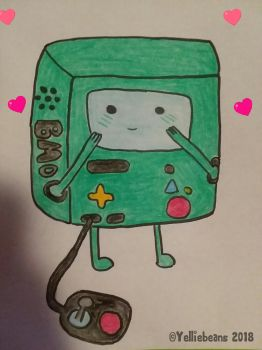 Will You Beemo Valentine? by Yelliebeans