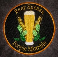 Beer Embroidered Patch by Spaceguy5