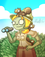 PvZ - Squirrel Herder by LWB-the-FluffyMystic