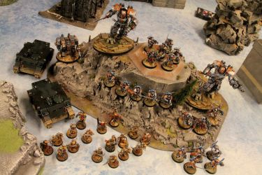 Grey Knight 8th Brotherhood with Arco-Flagellants by Master-of-Onion