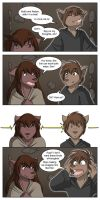 Natani and Zen's Link by Twokinds