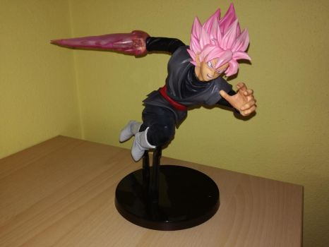 My first action figure: Goku Black Rose by HackerStriker
