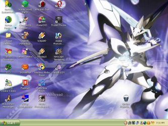 Vandread Desktop by ronso