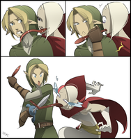 Link Got Your Tongue by IJKelly