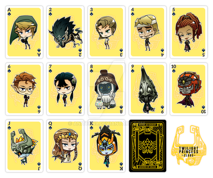 The Zelda Deck: Clubs by Aniteen9
