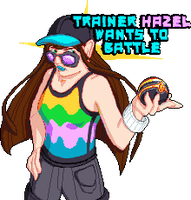 Trainer Hazel by SugarySweetSprites