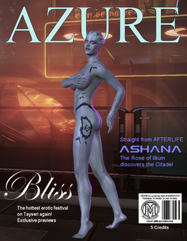 Azure cover: Ashana and Bliss festival by Taleeze