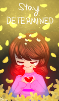 Stay Determined by Teacharms