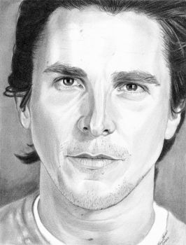 2011 Christian Bale by khinson