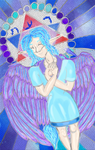 Stained glass idea - Sephira angels -DONE by Cians-Sacred-Lair