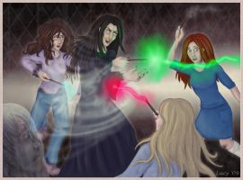 Fighting Bella by Lucy--C