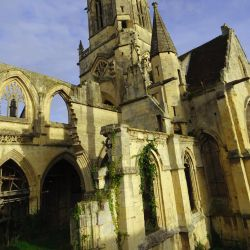 Holy Ruined Church, Saint-Etienne-le-Vieux by valmont1702