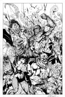 Justice League Dark commission by J-WRIG