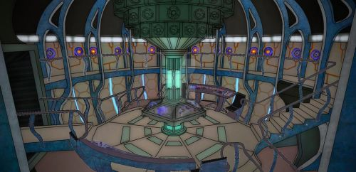11th doctor's TARDIS 2013 by Fusionfall550