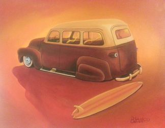 Surf Wagon by FesterBZombie