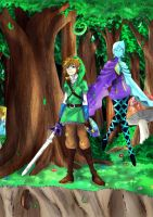 Link and Fi by TheHummingInker