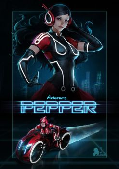 Pepper Tron by DmitryGrebenkov
