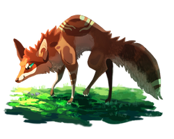 [GIFT] Fox by SappyScarfy