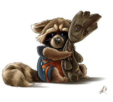 We are Groot by Aktheneroth
