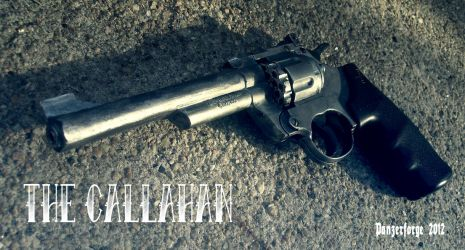The Callahan- custom .177 revolver by PanzerForge