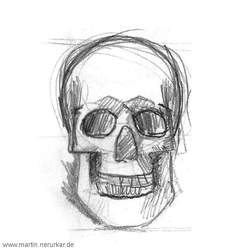 Facetober: Skull animation by Democritus