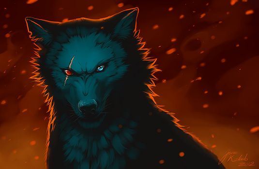 Fatal Red by Grypwolf