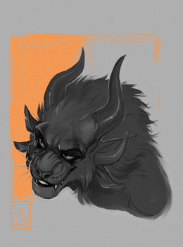 Black Charr by LiLaiRa