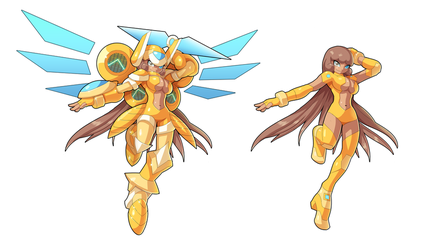 Commission: Goldheart by ultimatemaverickx