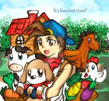 Harvest Moon-The Harvest Field by Nero-Taichou