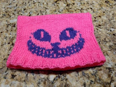 Knitted Cheshire Cat Hat by NantucketCat