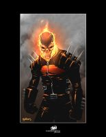 Ghost Rider by gabos