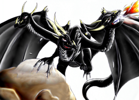 Dragon OF Eternal Darkness :I: by Cadc