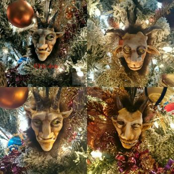 krampus ornaments  by VioWolf