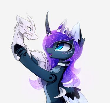 Poquet Dragon by MagnaLuna